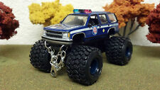WISCONSIN STATE PATROL, 1/64 SCALE, LIFTED, CUSTOM MODIFICATION, VERY DETAILED