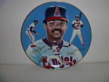 Reggie Jackson - California Angels 1983 Hackett Autograph Plate ARTIST PROOF