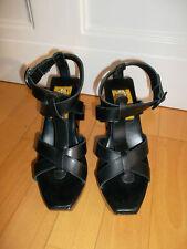 Plateforme Sandales Noir Taille 37 CHRISTIAN LACROIX pour LA REDOUTE Extravagant
