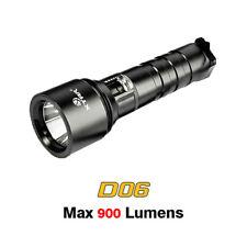 XTAR D06 Scuba Diving Flashlight Cree XM-L2 U2 LED 900 Lumens 18650 Dive Torch