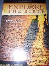 B00IPU5NTU Explore The Bible Fall 2013 (Johns Gospel Personal Study Guide)