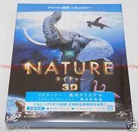 New Nature 3D 2D Blu-ray Set Japan F/S Patrick Morris GNXF-1803 4988102246983