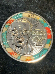 Stan Lee Excelsior Metal Collector's Coin Nerd Block Exclusive Collection