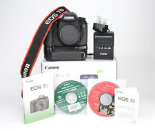Canon EOS 7D DSLR Camera Body Only + Battery Grip - Boxed  - 6,382 Shots - VGC