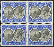 Dominica (Until 1967) Block Stamps