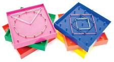 Geoboards Small  (6 pk) Bands Maths Teacher Education Learning Geometric Kids