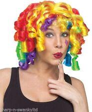 Complementos de color principal multicolor para disfraces y ropa de época, los payasos/circo