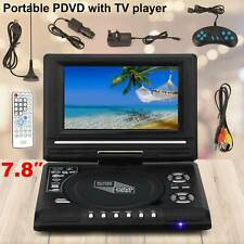 7.8 Inch Portable DVD FM TV Player Digital Multimedia Player U Drive Game