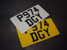 12x6 Pair American Import Road Legal Number Plates 100% MOT Compliant