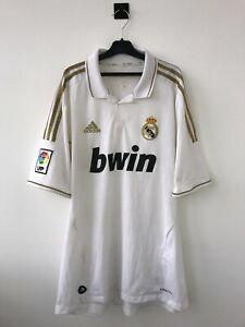 REAL MADRID SPAIN 2011/2012 HOME FOOTBALL SOCCER SHIRT JERSEY CAMISETA ADIDAS