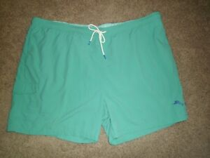 Tommy Bahama Swim Trunks Sz 4XL Castaway Green NWT