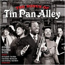 The Songs Of Tin Pan Alley 2-CD NEW SEALED Nat King Cole/Peggy Lee/Dean Martin+