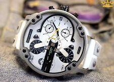 Reloj Cronógrafo Men's Dlesel DZ7401 Mr. Daddy Blanco/Gris Banda de zona de múltiples
