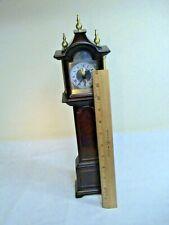 "New ListingBombay Company Royston Miniature Grandfather Clock 1:12 Scale 16"""