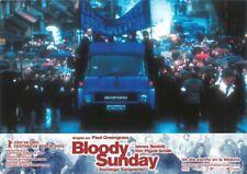 BLOODY SUNDAY (1972) de Paul Greengrass - 8 Lobbycards