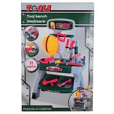 Tools Werkzeugbank für Kinder 11 tlg.