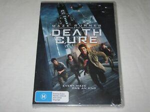 Maze Runner - The Death Cure - Brand New & Sealed - Region 4 - DVD