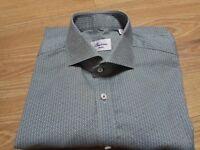 Stenströms Sweden Slimline Shirt Long Sleeve Size 15,3/4  40 Dress Shirt pattern