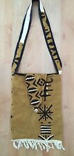 Authentic West African MUD CLOTH Bag Handwoven dyed & sewn Purse BURKINA FASO