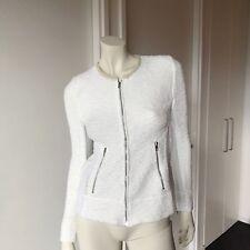 NWT IRO Amiya Cream/Off White Jacket Size 38 (8-10) - Purchased from Husk $699