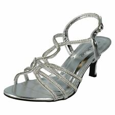 High (3 in. and Up) Ankle Strap Slim Sandals & Flip Flops for Women