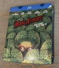 Mars Attacks! Blu-ray Steelbook Zavvi Uk Limited Edition Region Free New Sealed