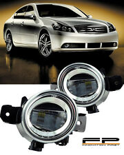 For 2008-2010 Infiniti M35 M45 LED Replacement Fog Light Housing Clear Lens