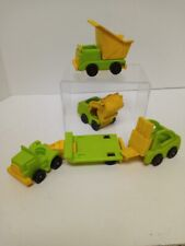 Vintage Fisher Price Little People Lift & Load Vehicles plus truck and hauler