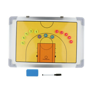 Magnetic Tactics Strategy Coaching Board for Basketball Match Training Aids