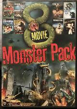 8-Movie Monster Pack (DVD, 2013, 2-Disc Set)