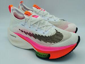 Nike Air Zoom Alphafly NEXT% Flyknit Rawdacious Racing Shoes DJ5456-100 Size 10