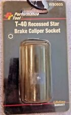 "WILMAR 3/8"" DR T-40 RECESSED STAR BRAKE SOCKET W80605"