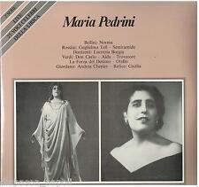 Maria Pedrini: Norma, Guglielmo Tell, Semiramide, Lucrezia Borgia, Don Carlo LP