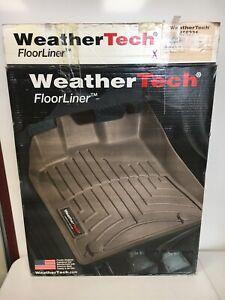 455231 WeatherTech FloorLiner Mats for Chevrolet Cruze  2009-14 - 1st Row - Tan