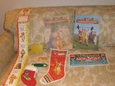 Vtg LOT of 10 McDonalds 1980s Xmas Stockings Growth Chart Magazines Spoon etc