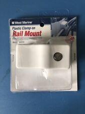 WEST MARINE PLASTIC CLAMP- ON RAIL MOUNT 5142070