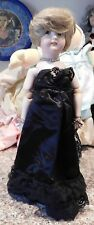 """16""""  LE  Mary & Charles Gilkie Bisque Doll Princess Diana w/ Letter from Queen s"""