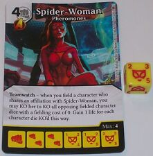 SPIDER-WOMAN PHEROMONES 129/142 Age Of Ultron Dice Masters RARE