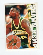 figurina - BASKETBALL BASKET PANINI 1995 95/96 - numero 264 SHAWN KEMP