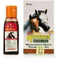 "REPL ""HYPOWER MUSLI OIL"" (Ayurveda Massage Oil for Men). 15 ml - Free Shipping"