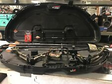 Hard to Find Hoyt Sabertec Rh Pull Compound Bow W/ Plano Case Arrows Sights +