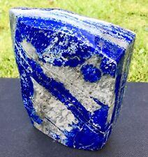 Lapis Lazuli Polished Gemstone Crystal Mineral Display Specimen 2k Afghanistan