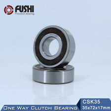 CSK35 One Way Bearing 35*72*17mm(1PC) Without Keyway FreeWheel Clutch bearing