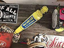 Antique Vintage Old Monroe Shock Absorber Sign