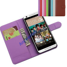 "Leather Card Slot Stand Cover Case Wallet for 5"" HTC Desire 626 /626G+ Phone"
