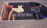 "Lew Quadling & the Sentimental Reeds ""That Old Sax Magic"" CAPITOL LP #ST-1505"