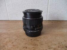 SMC Pentax-M 85mm f/2 portrait lens, excellent condition, see description