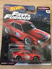 Hot Wheels Fast & Furious Mitsubishi Lancer Evolution 3/6 1:64 Véhicule Miniature - Vert