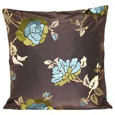 Design Forum Blue Flowers Cushion Cover 16''