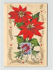 MADAGASKAR MK 1959 FLORA WEIHNACHTSSTERN CARTE MAXIMUM CARD MC CM d9327